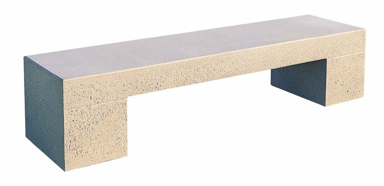 6 Foot Indoor Outdoor Concrete Tech Bench TF5027