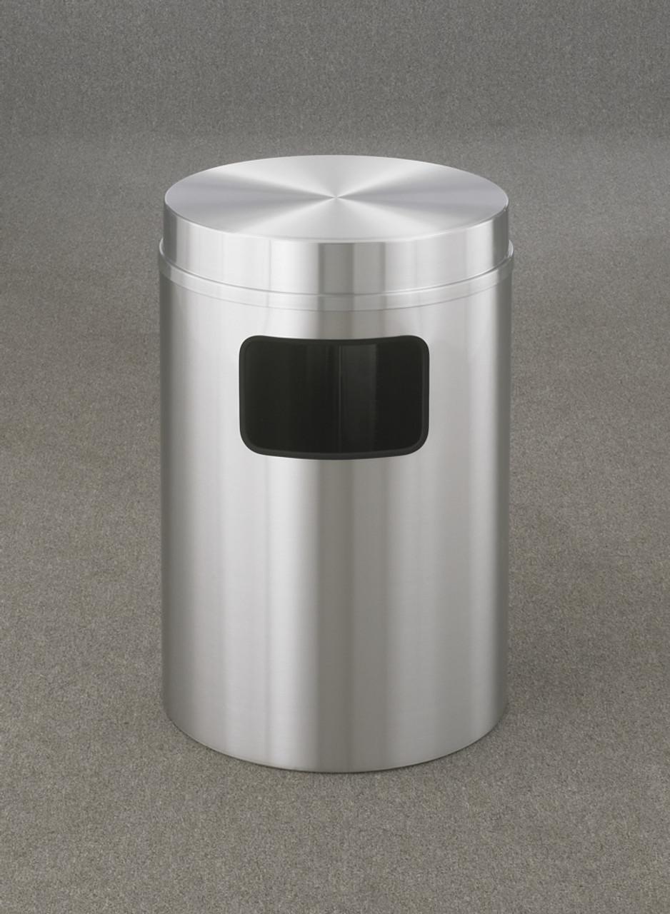 New Yorker 17 Gallon C2066SA Flat Top Trash Receptacle w/Plastic Liner