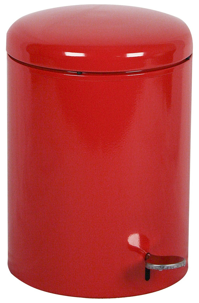 4 Gallon Step Can OSHA Compliant Fire Safe Steel Liner Red