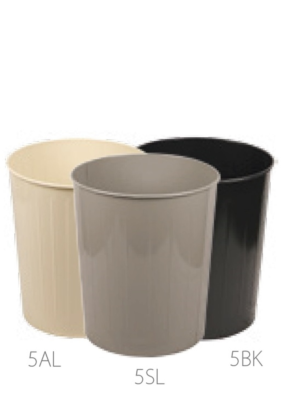 50 Quart Witt Industries Round Metal Wastebaskets