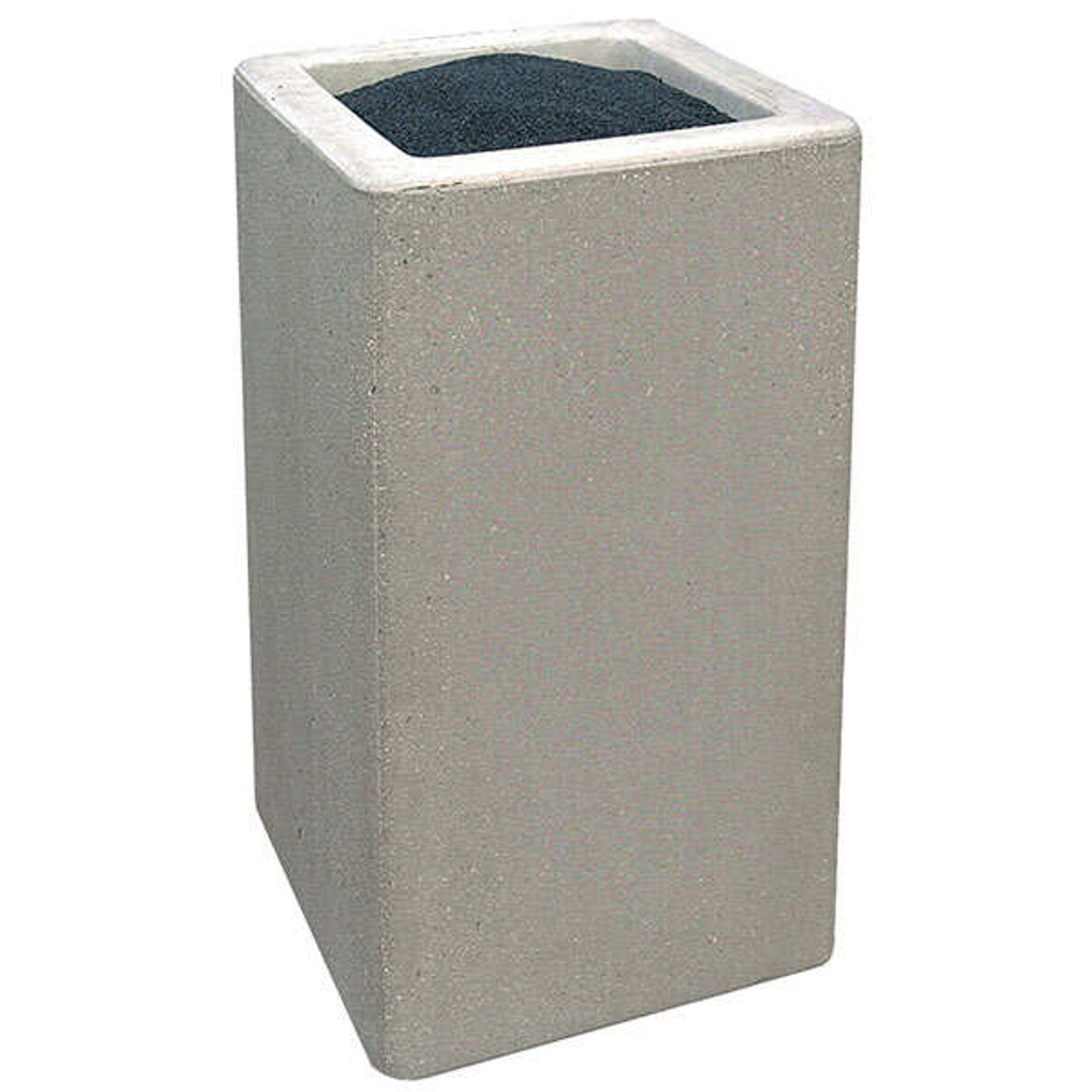 Concrete Ash Urn Outdoor Ashtray Smokers Receptacle TF2040 Weatherstone