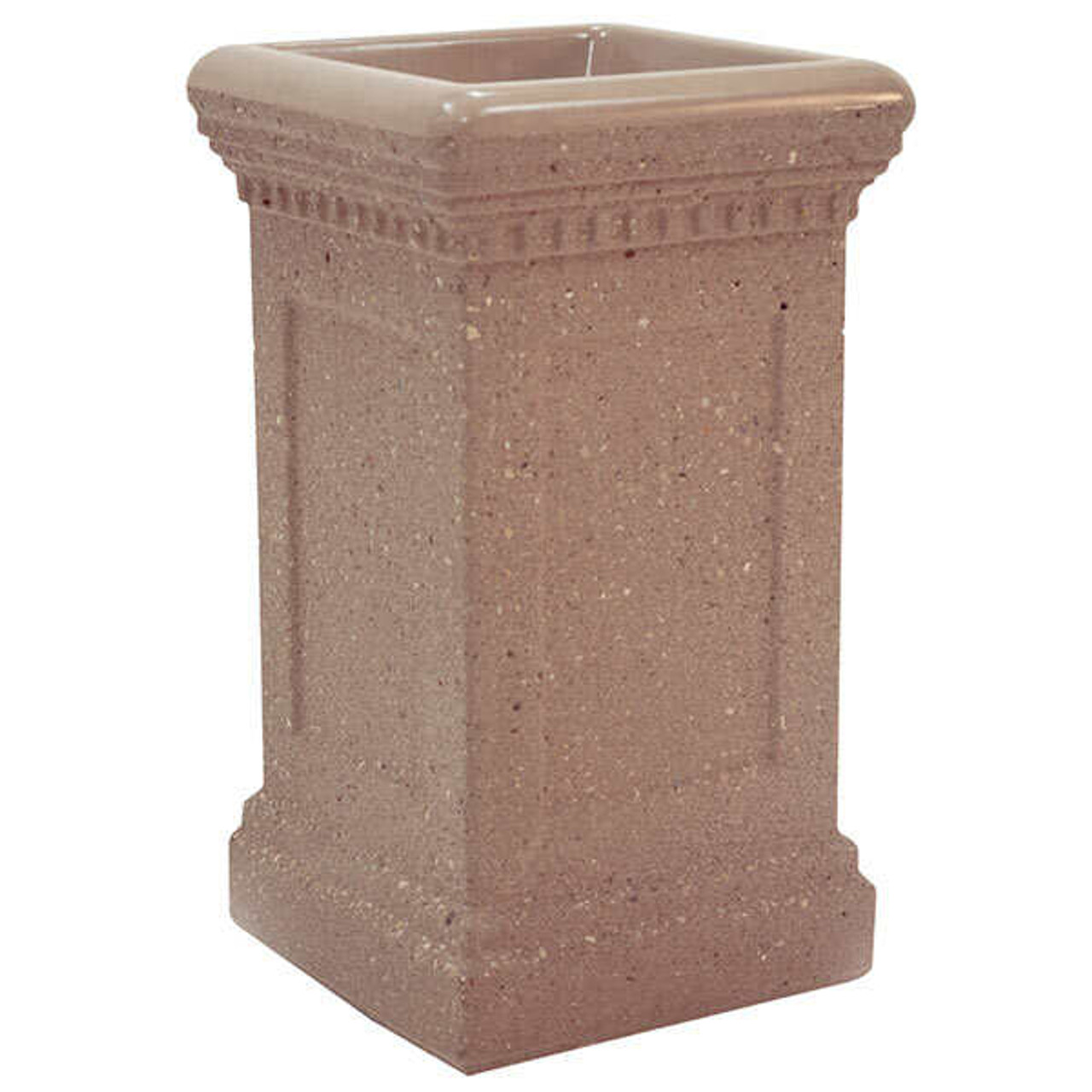 Concrete Colonial Ash Urn Outdoor Ashtray Smokers Receptacle TF2036