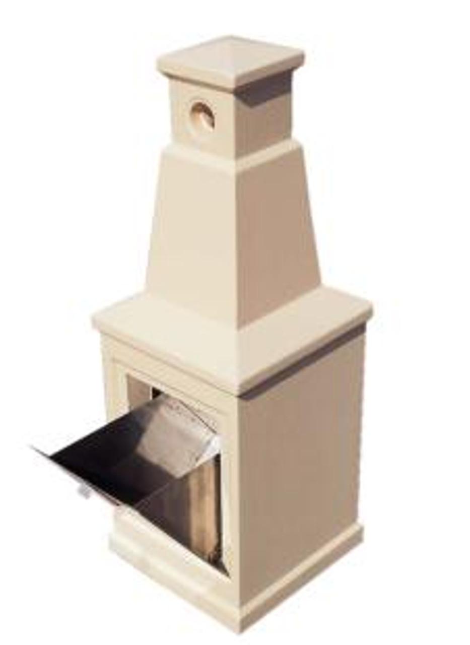 Concrete Smokeless Outdoor Ashtray Smokers Receptacle TF2053