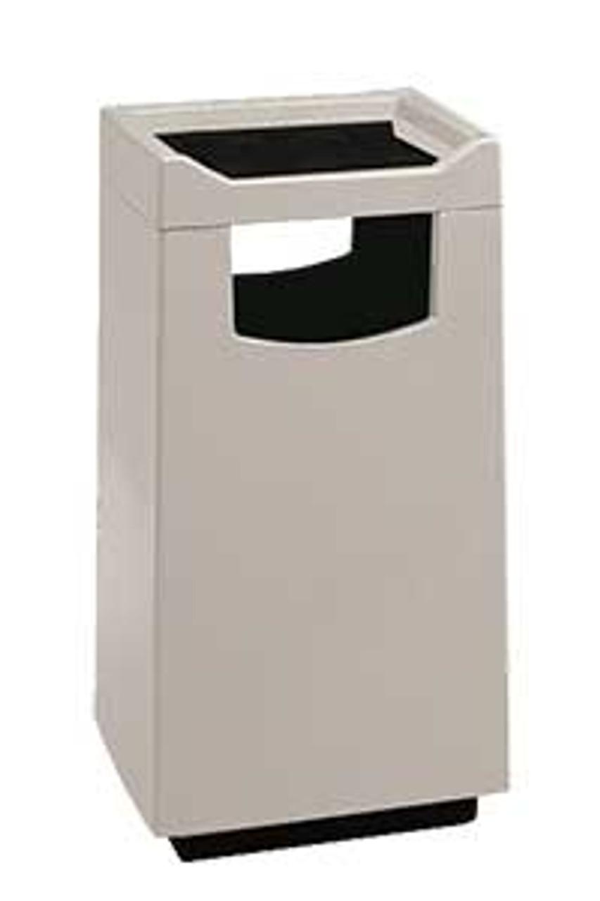 30 Gallon Food Court 77S2040FC Fiberglass Waste Receptacle