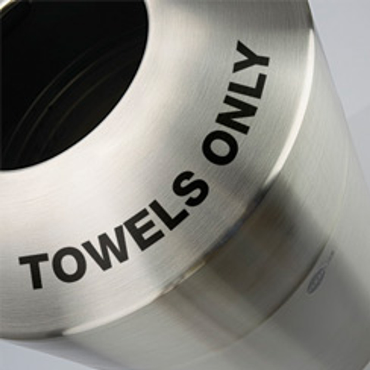 Towels Only Message