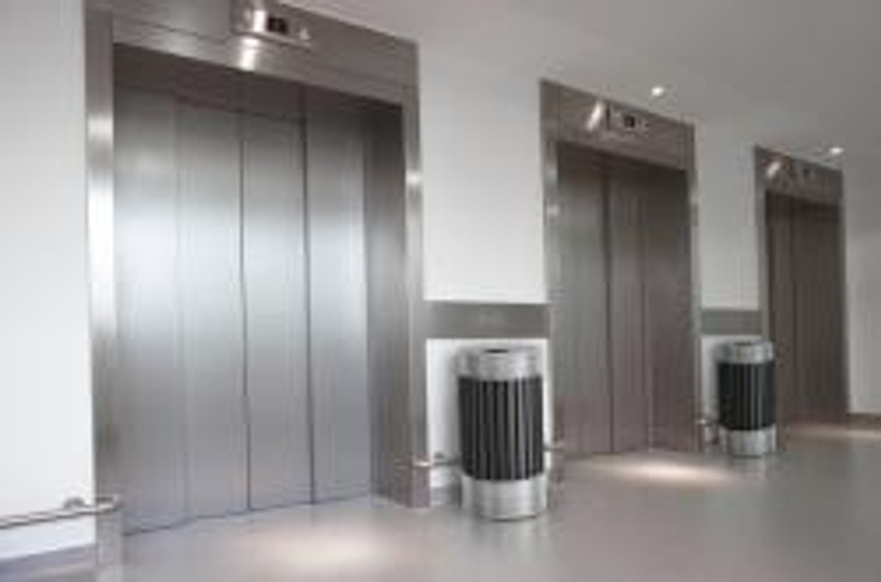 at Elevator