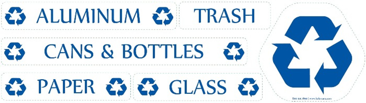 Optional Recycle Decal Set