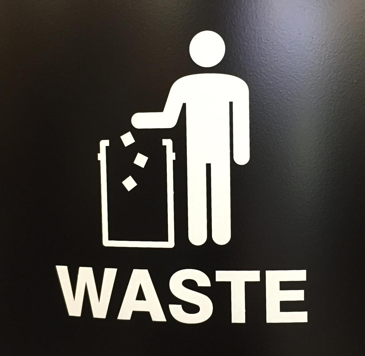 International Waste Decal