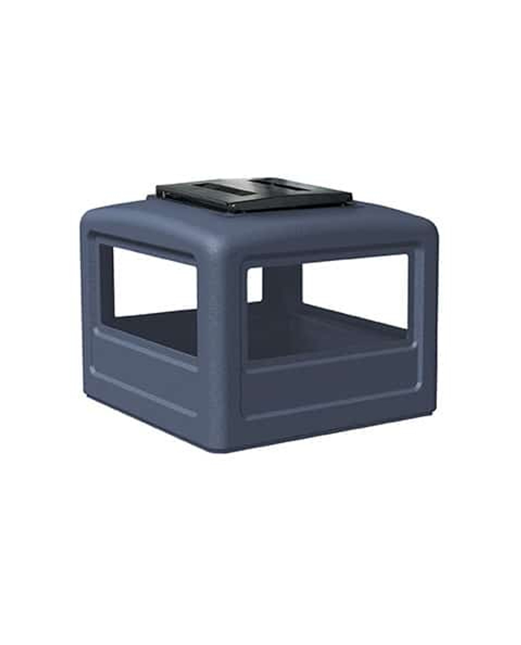 Lid with Ashtray Dark Blue