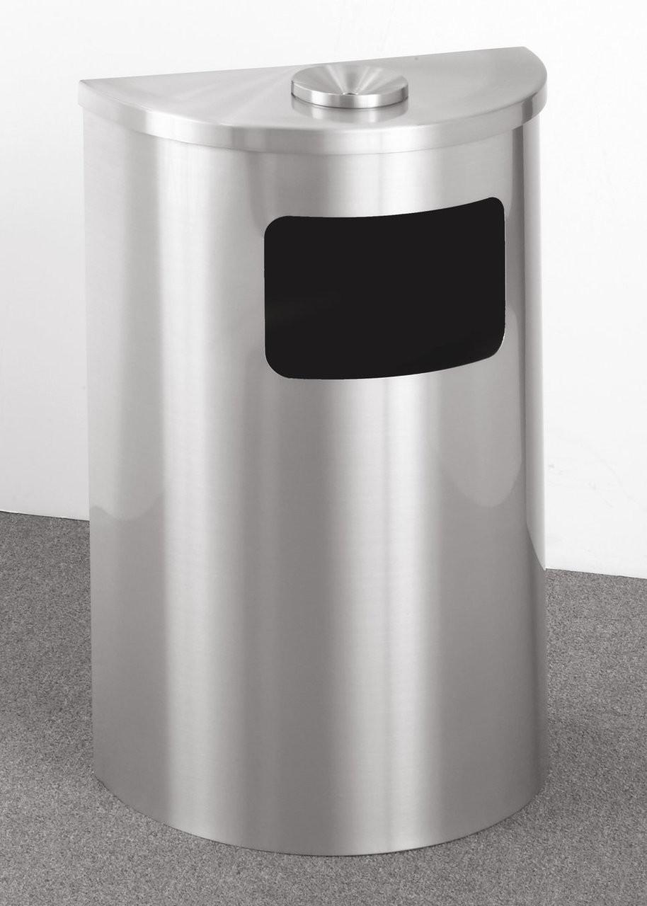 Satin Aluminum with Optional Ashtray