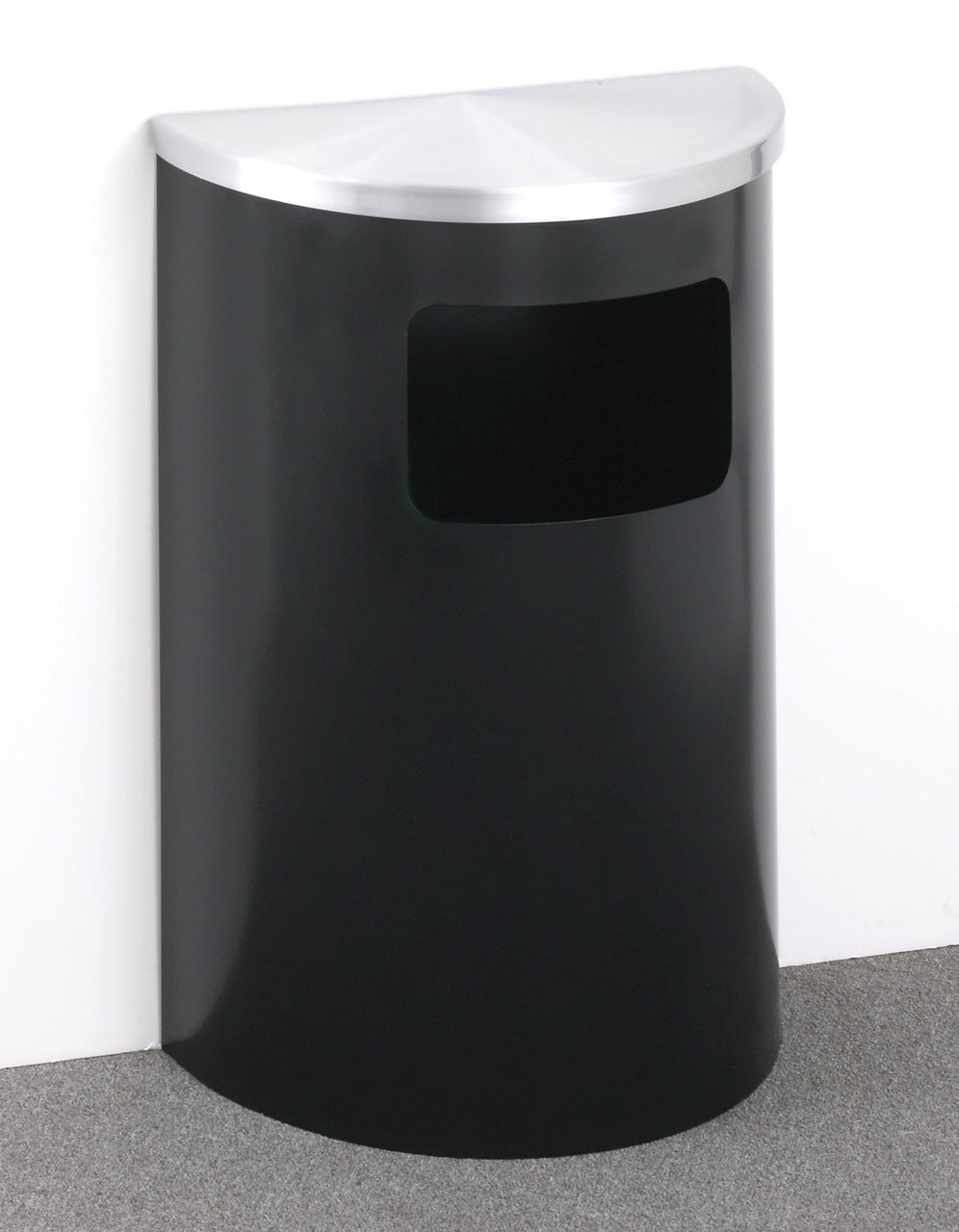 Satin Black with Satin Aluminum Lid