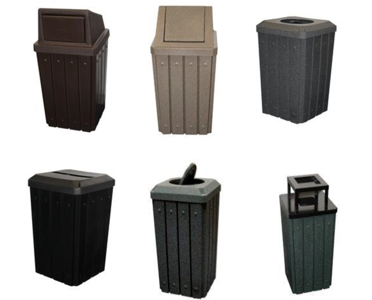 32 Gallon Kolor Can Signature Trash Receptacles