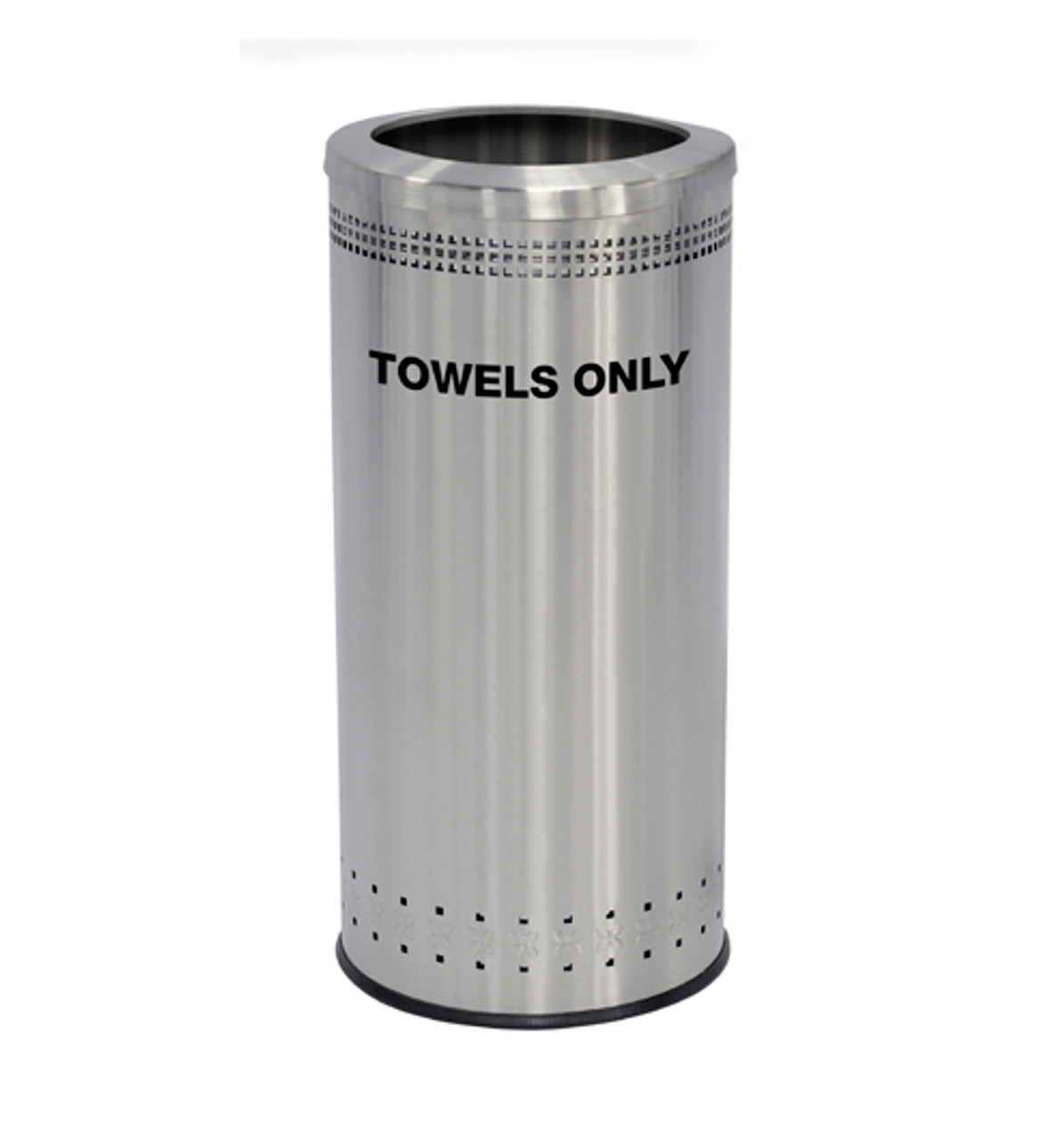 25 Gallon Precision Series Stainless Steel Guest Towel Can 78282999