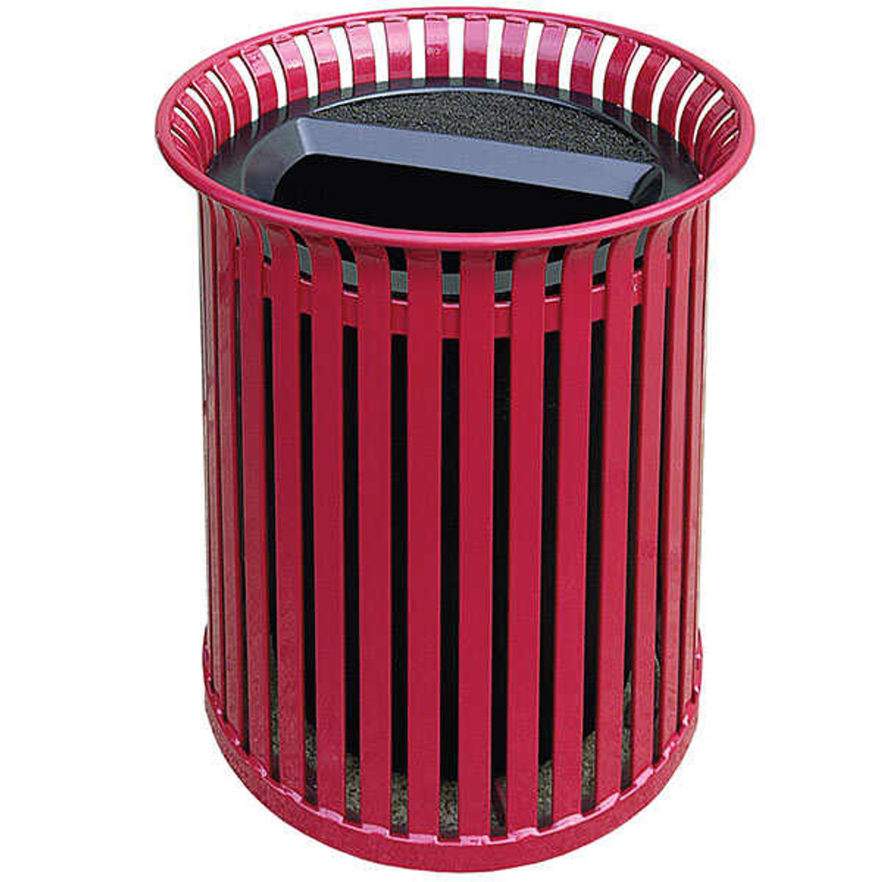 42 Gallon Steel Outdoor Ash Trash Container MF3225