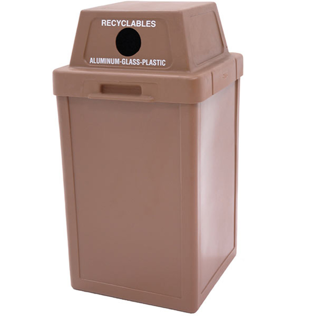 24 Gallon Plastic Indoor Outdoor Recycling Waste Container TF1001