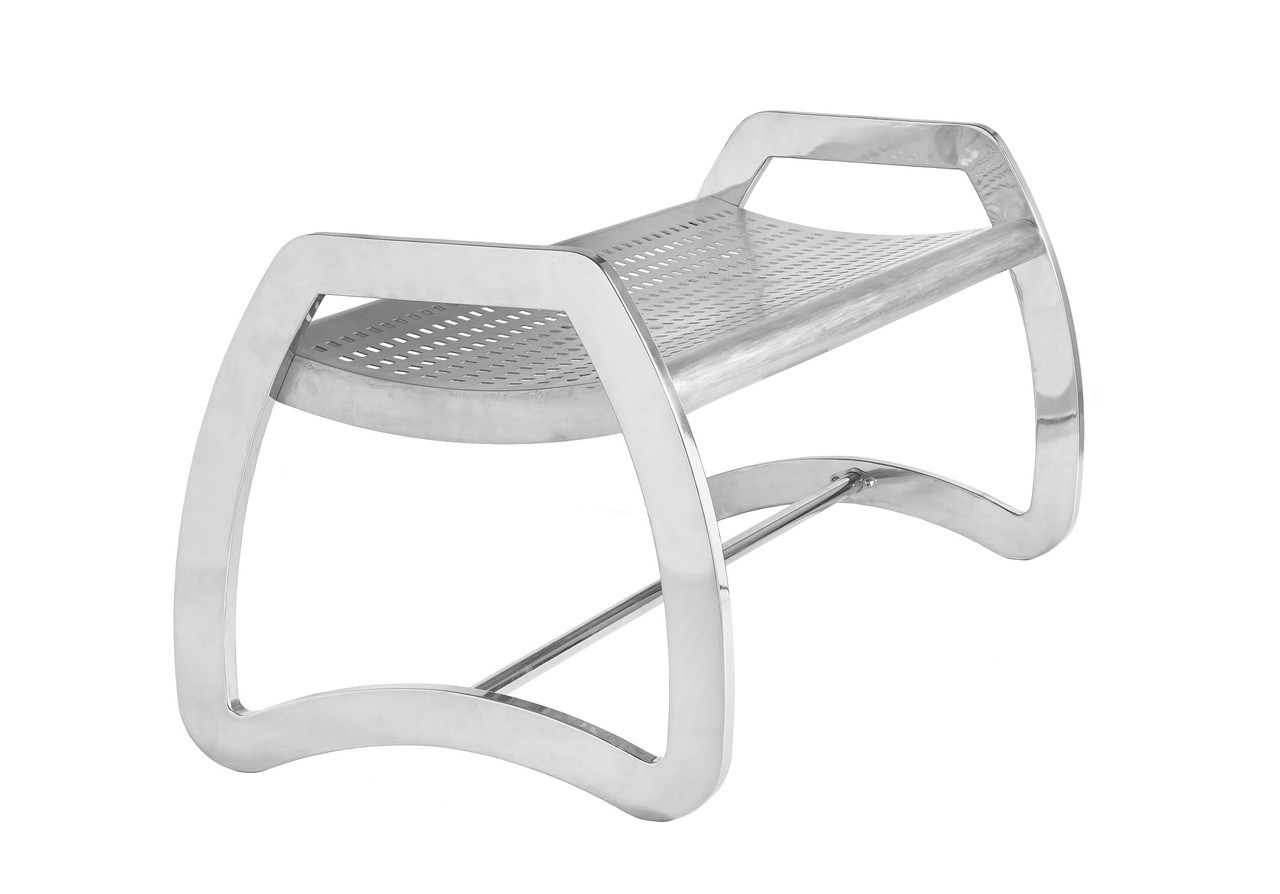 Skyline Stainless Steel Bench