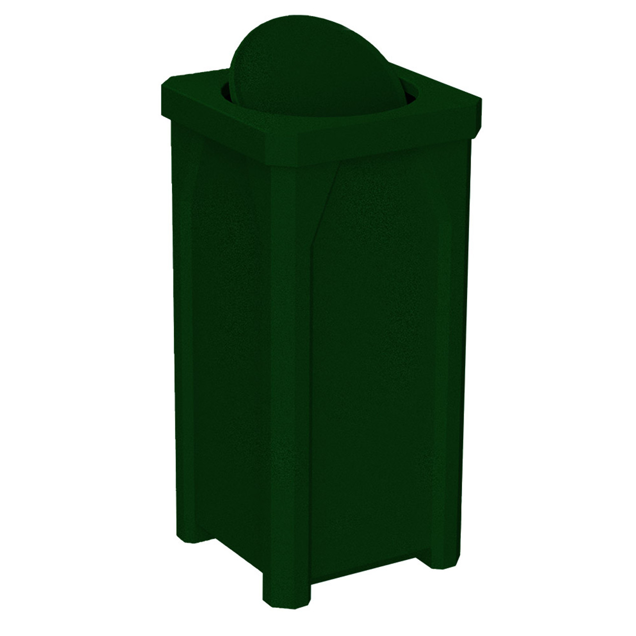 22 gallon swivel lid kolor can square bathroom trash can