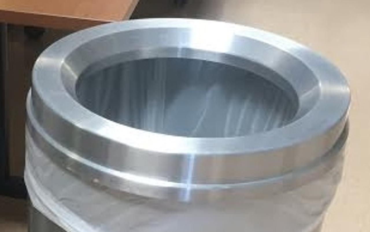 Glaro Funnel Top Lid Satin Aluminum