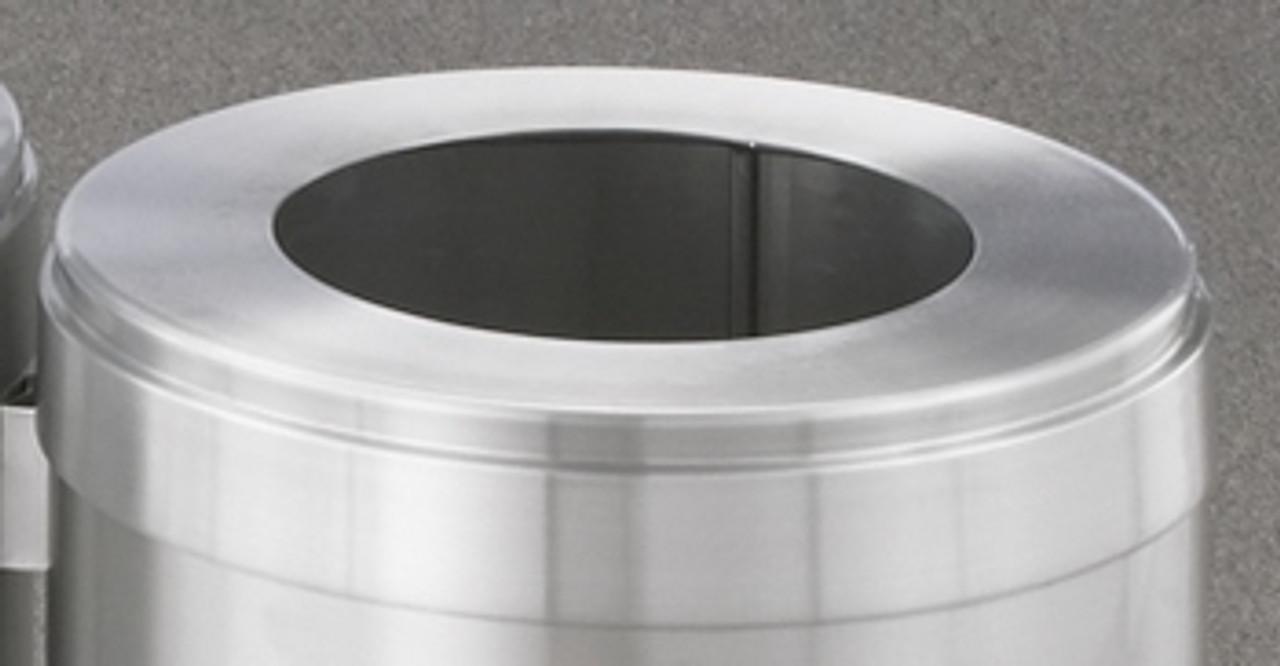 Glaro Waste Lid Satin Aluminum