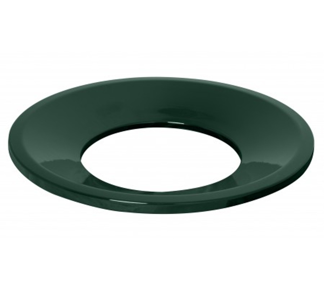 Funnel Lid Hunter Green Gloss Trash Can Lid