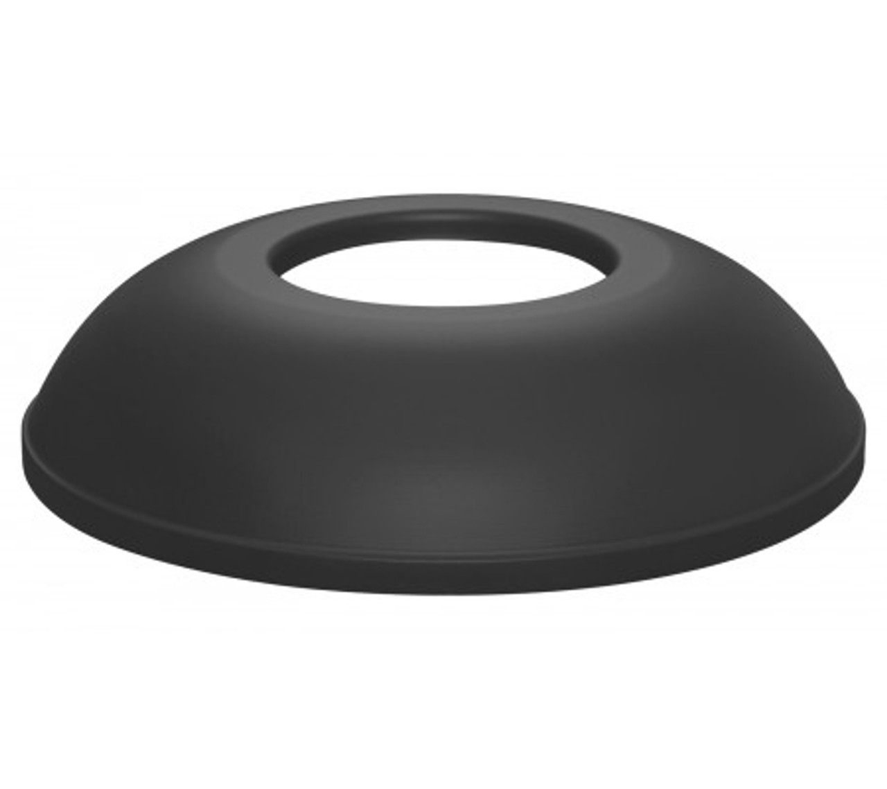 Black Textured Trash Can Lid