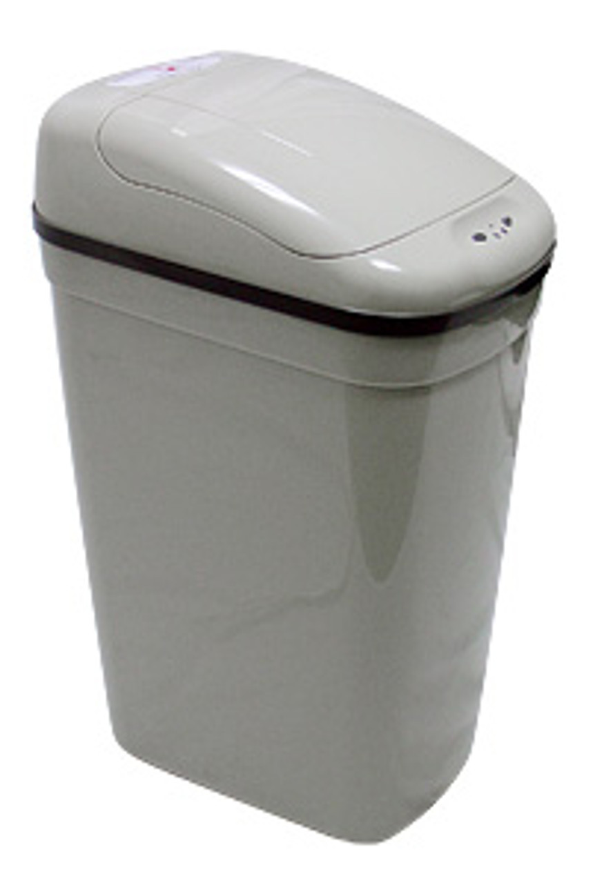 Touchless Automatic Trash Can Gray 7 Gallon