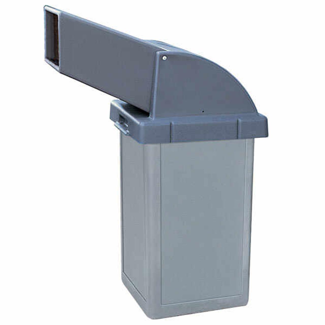 24 Gallon Heavy Duty Plastic Drive Thru Top Waste Container TF1018