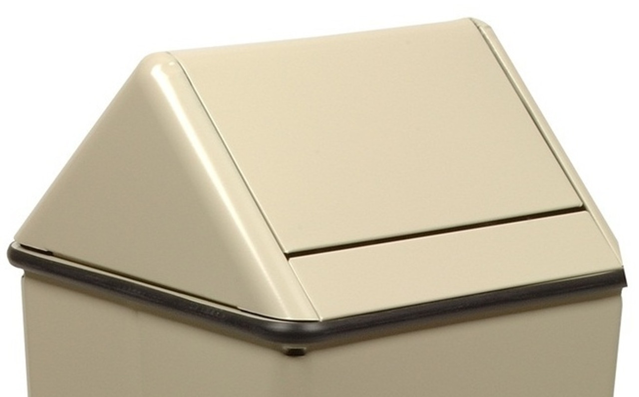 19 x 19 Metal Painted Swing Top LID ONLY for 1511HT/36H Almond