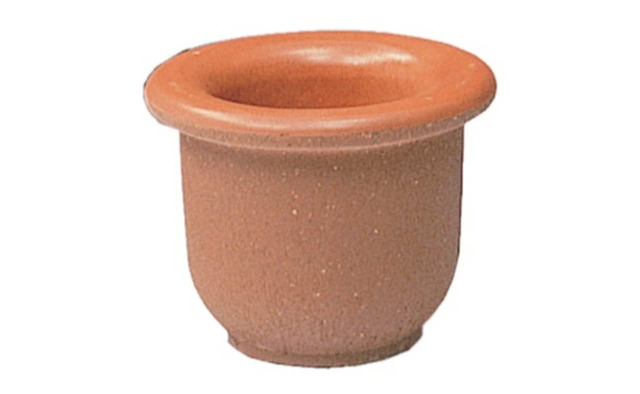 18 x 12 Decorative Senora Outdoor Round Concrete Planter TF4045