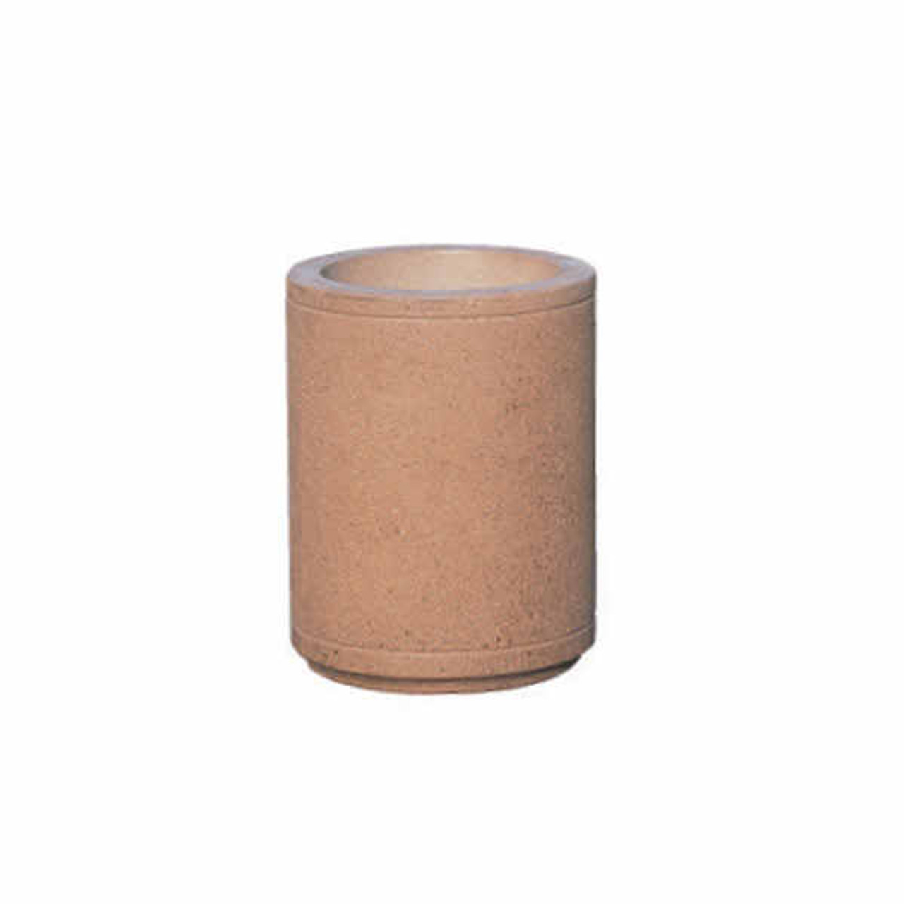 18 x 24 Outdoor Round Concrete Planter TF4070 Weatherstone Sand