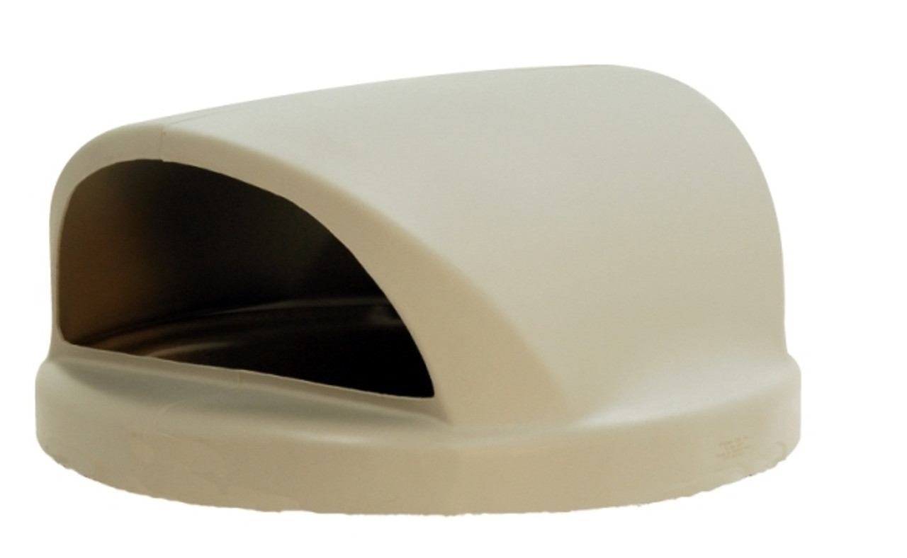 26.5 Inch 2 Way Plastic Lid TF1465 for TF1150 Trash Cans (Beige)