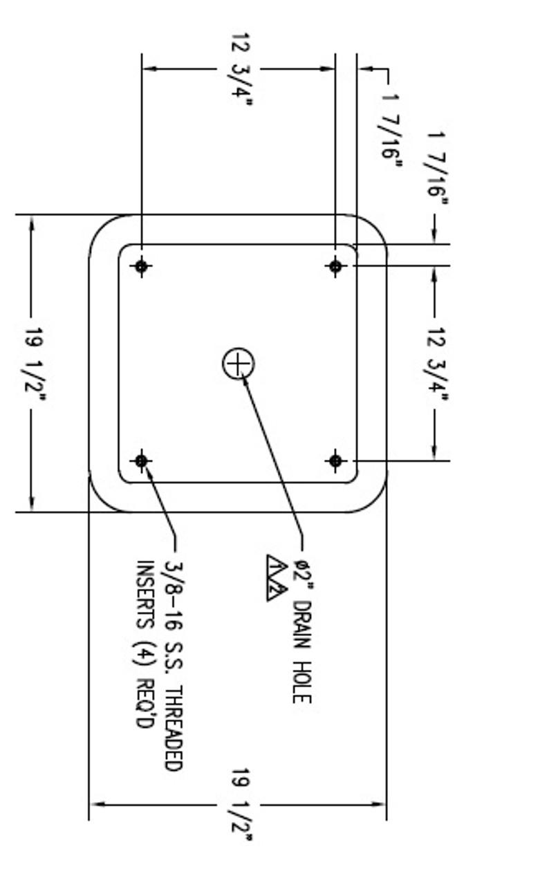 30 Gallon Square Container Dimensions