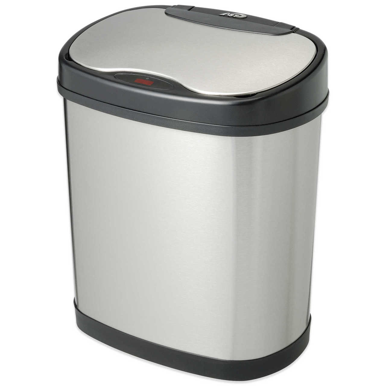 3 Gallon Touchless Automatic Bathroom Trash Can Stainless Steel DZT-12-13