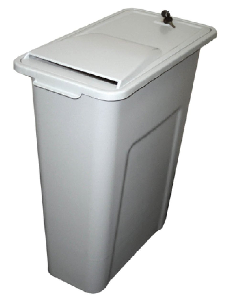 23 Gallon Locking Personal Desk Side Document Container