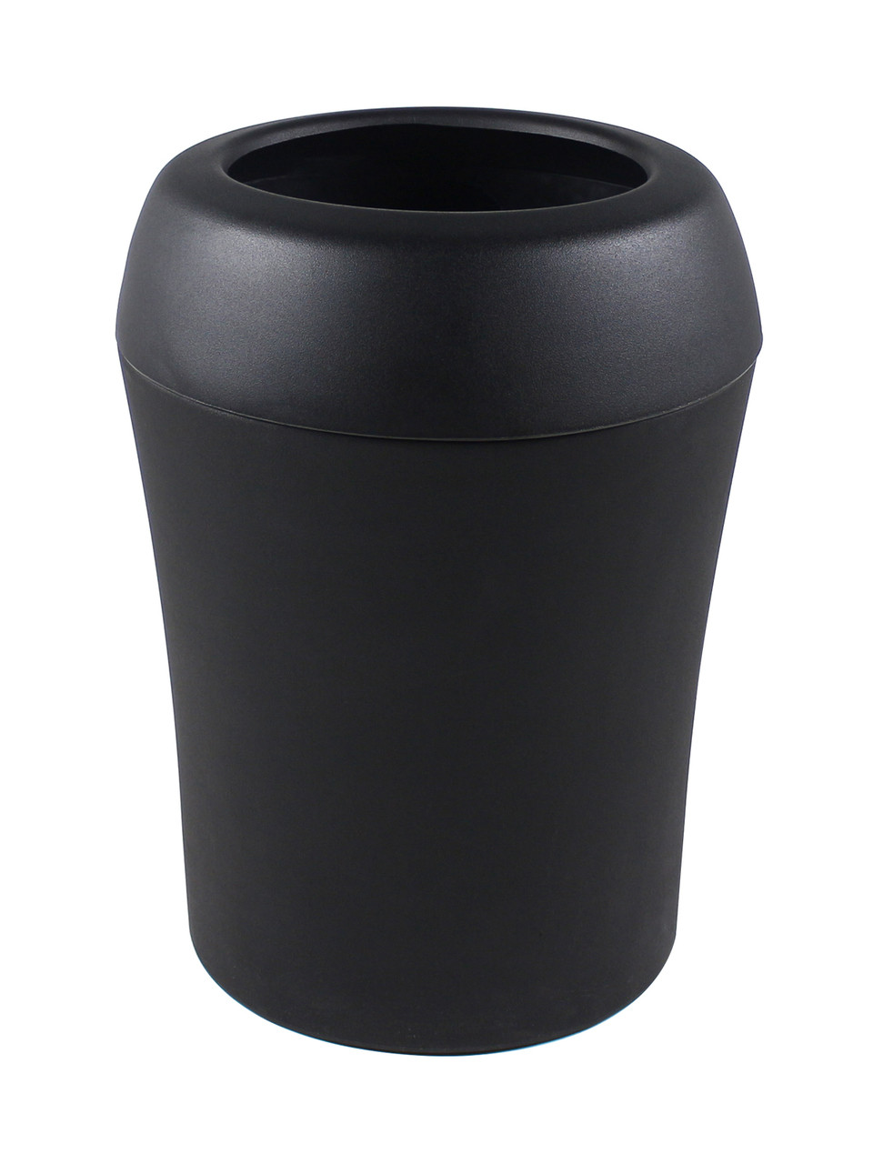 35 Gallon Infinite Select Plastic Indoor Outdoor Trash Can Black 101669