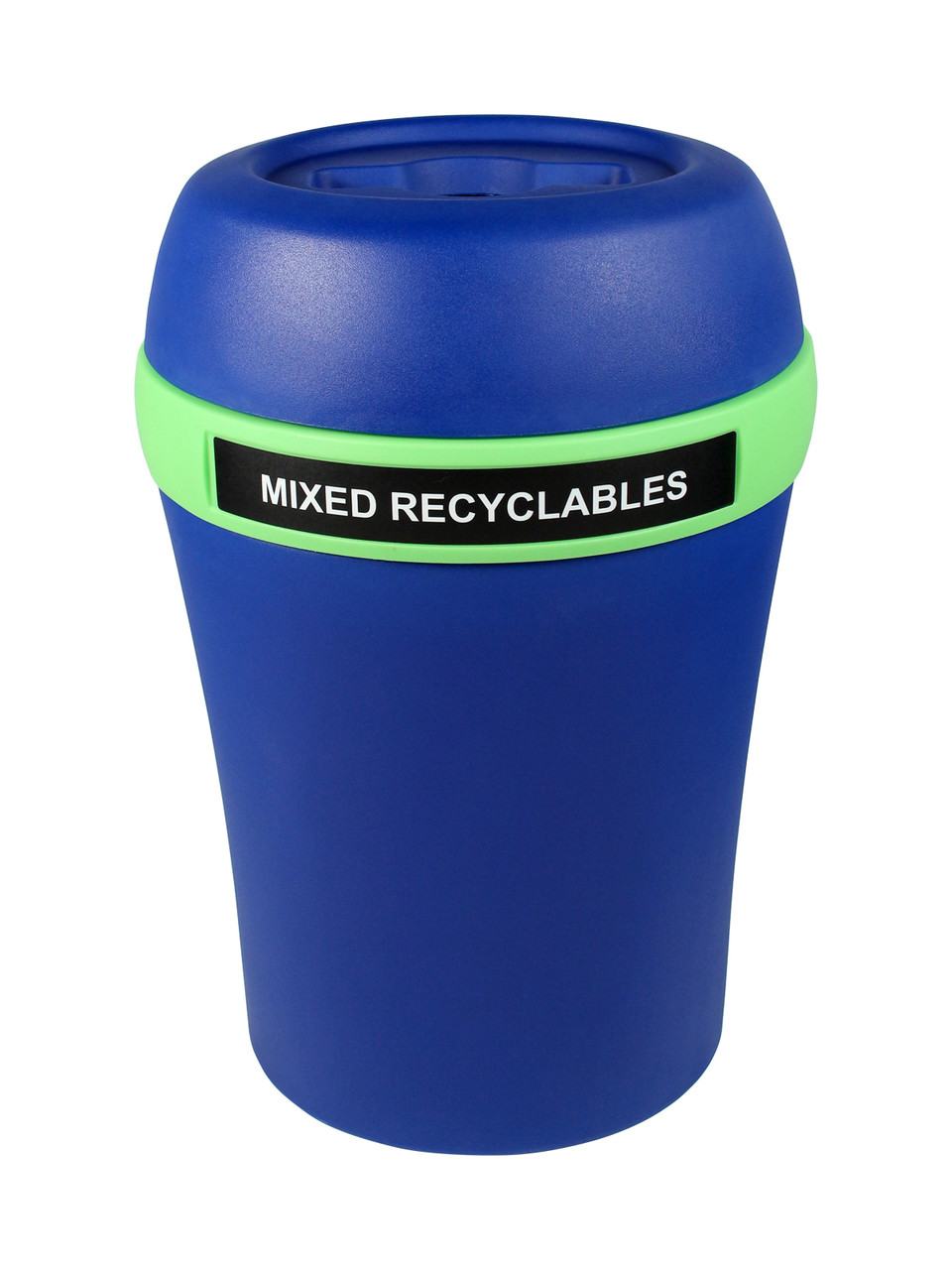 Mixed Recyclables-Blue/Green-Mixed