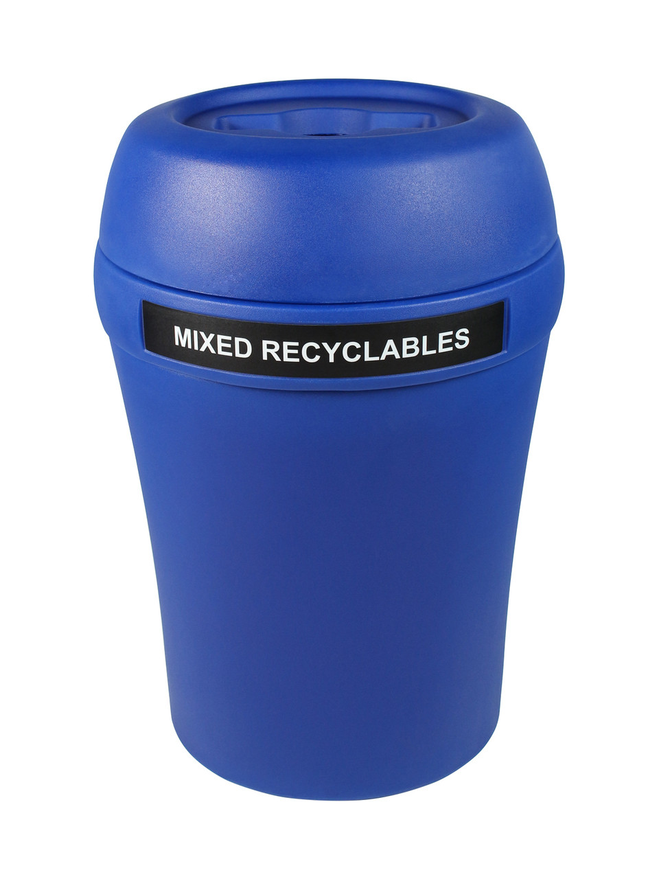 Mixed Recyclables-Blue/Blue-Mixed