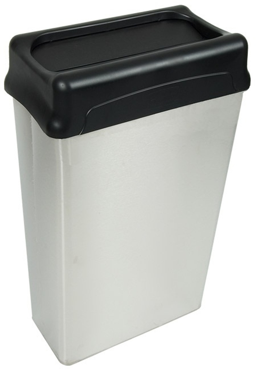 22 Gallon Stainless Steel Rectangular Waste Receptacle