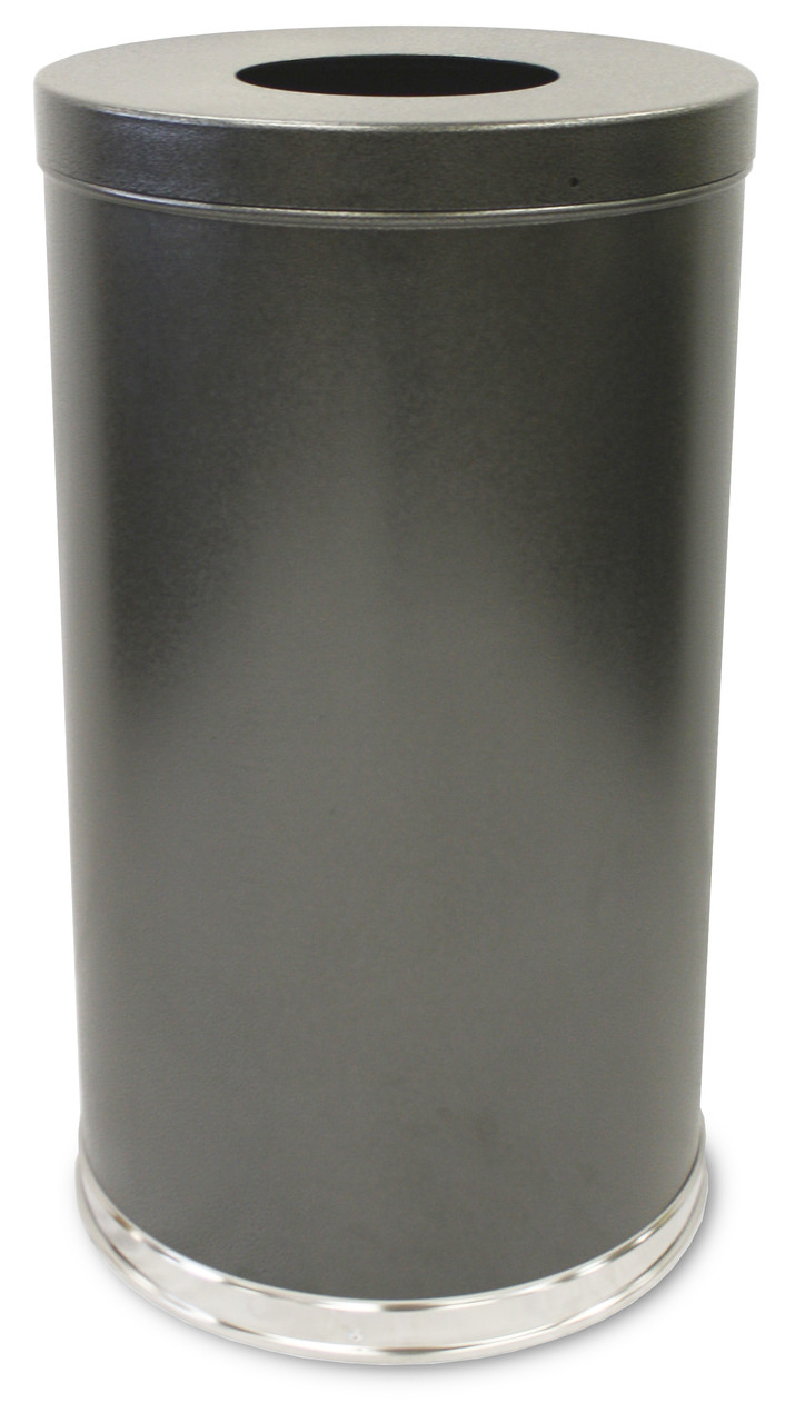 35 Gal Granite Large Capacity Indoor Waste Receptacle By Witt 35ftsvn