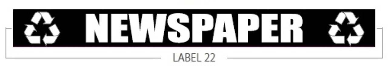 Newspaper Decal