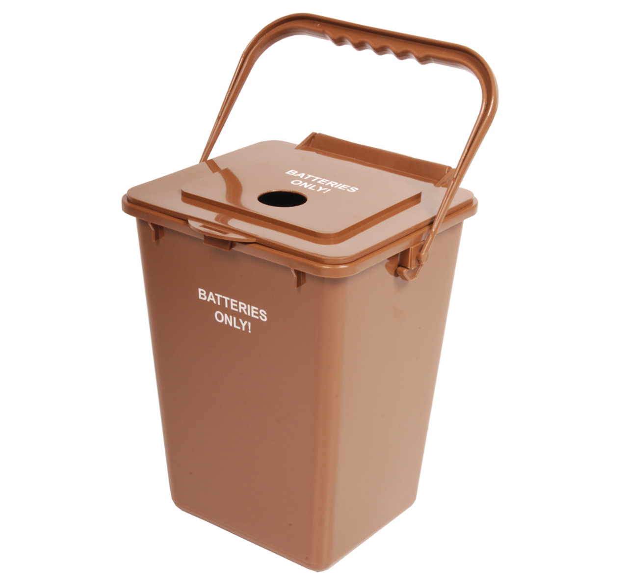 2.25 Gallon Brown Used Battery Container BATBIN-24BO (Case of 2)