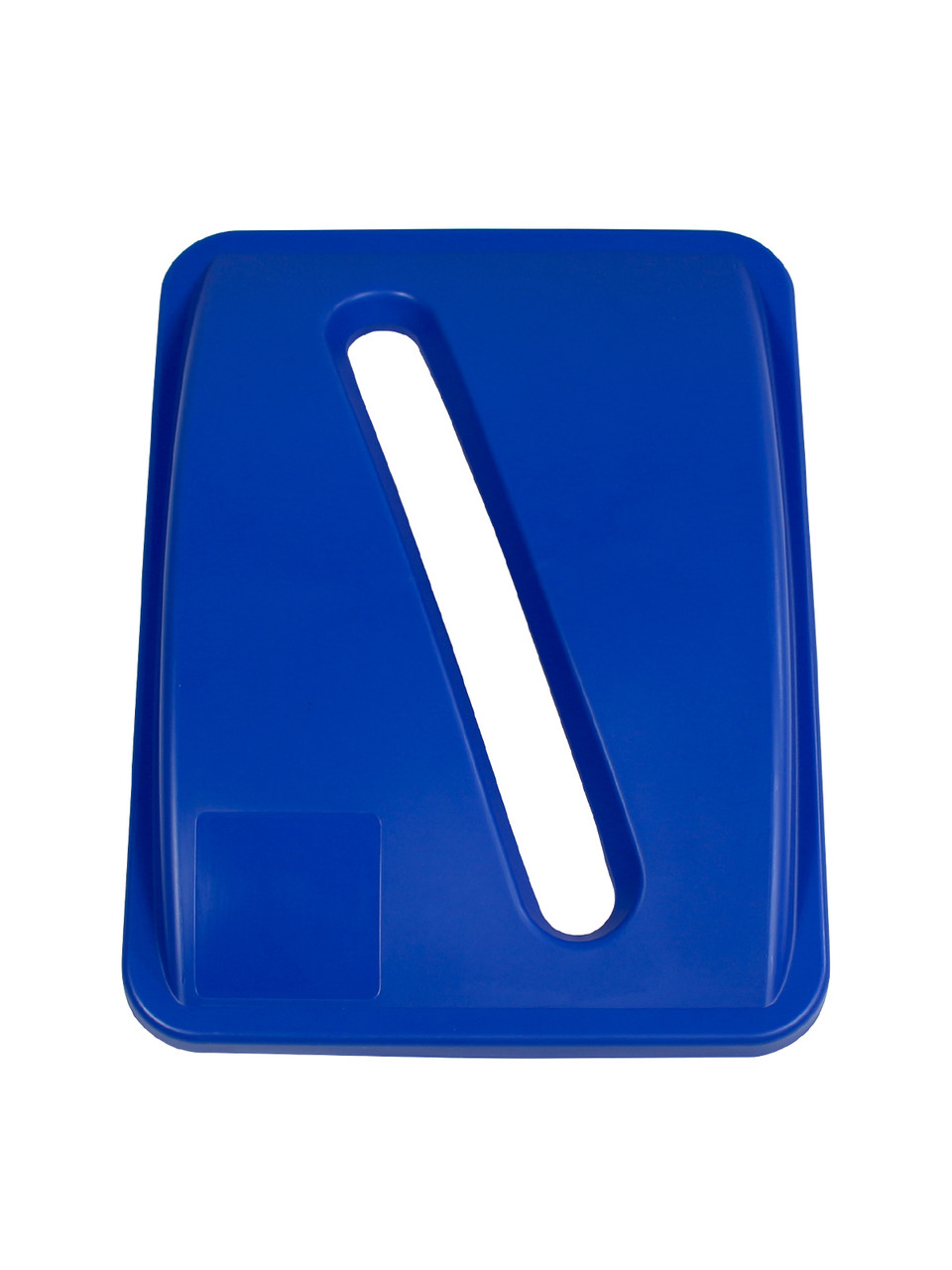 SLOT OPENING LID BLUE