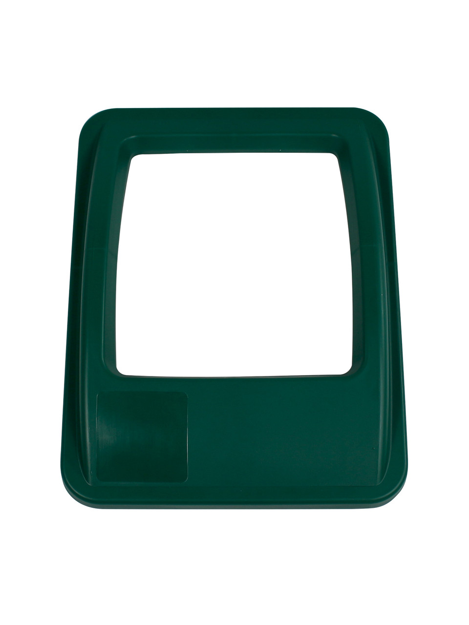 RECTANGLE OPENING LID GREEN