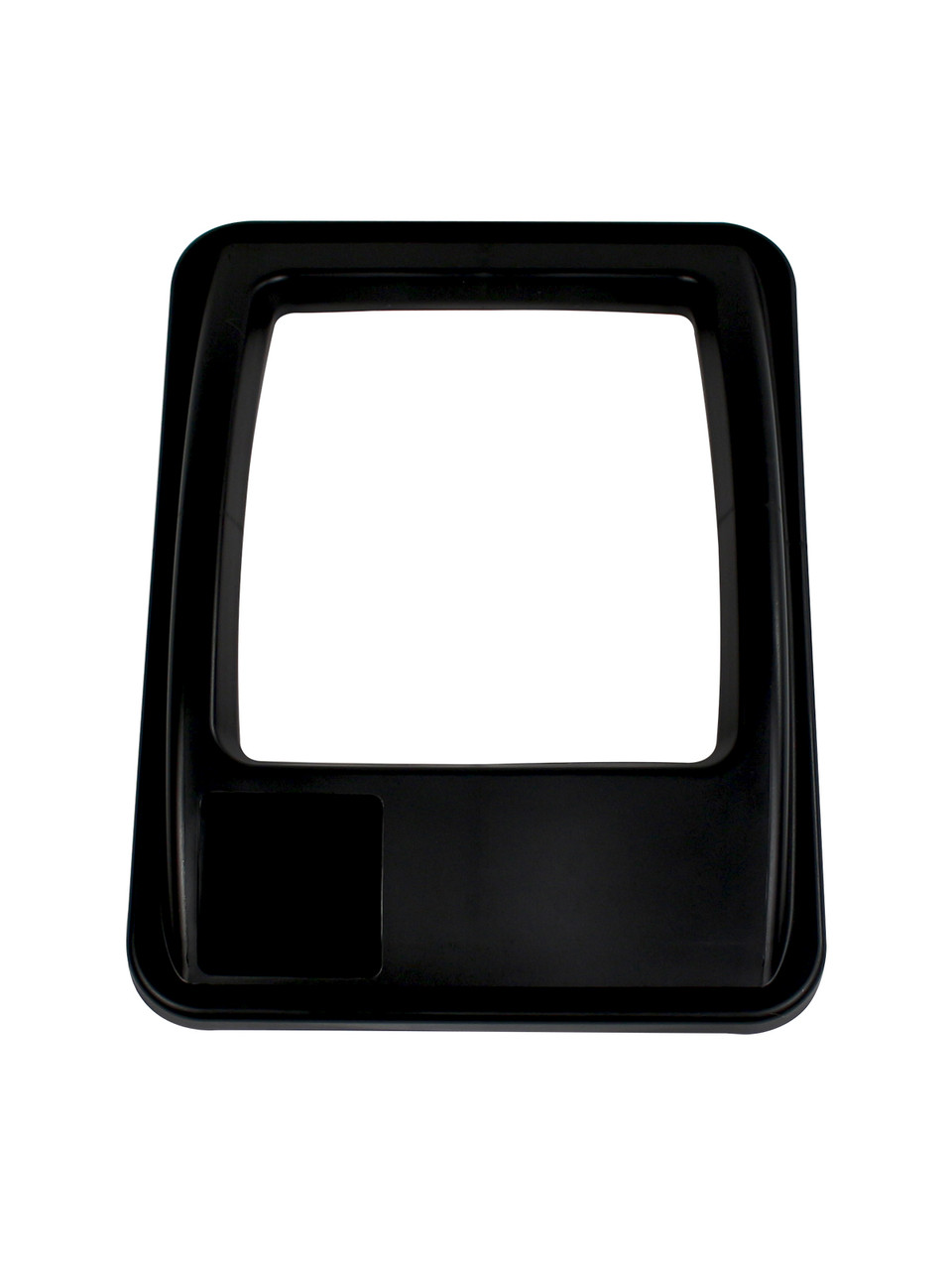 RECTANGLE OPENING LID BLACK