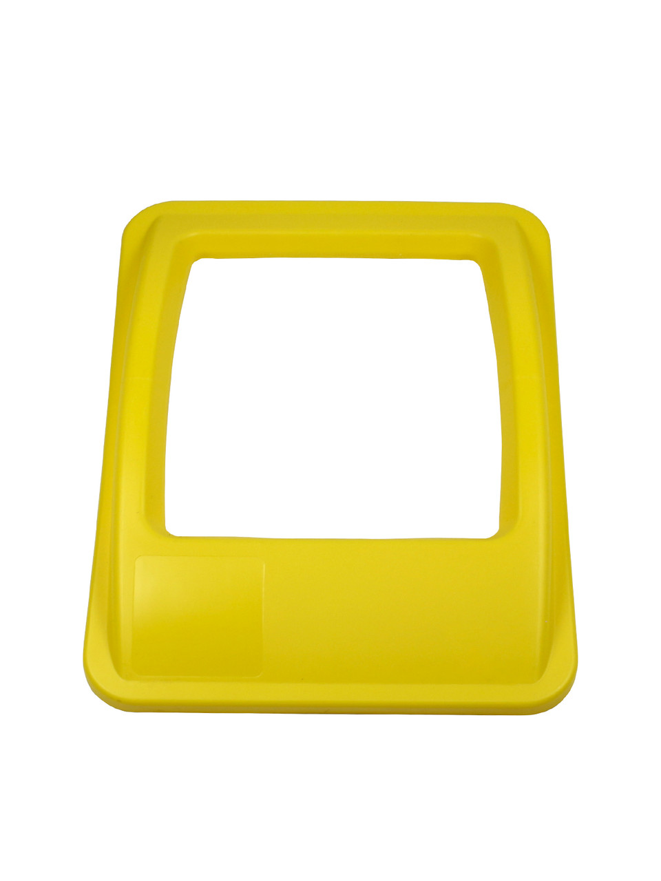 RECTANGLE OPENING LID YELLOW