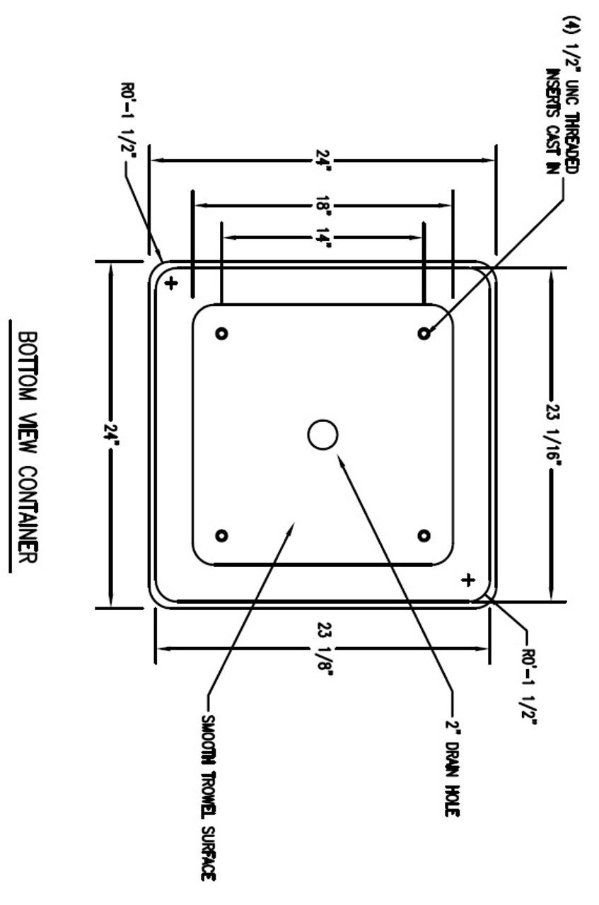 53 Gallon Square Container Dimensions