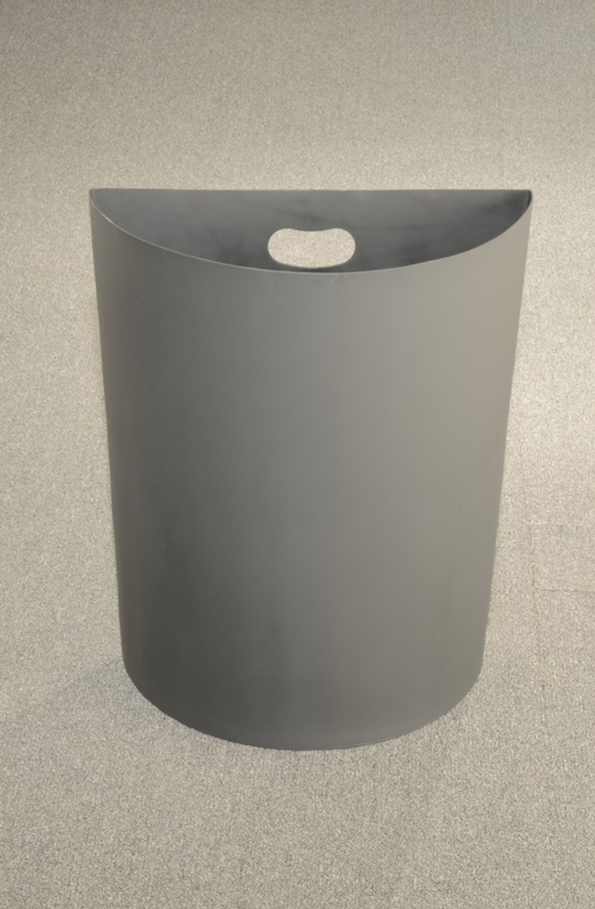24 Gallon Half Round Plastic Liner PLC24 for Half Round Trash Cans