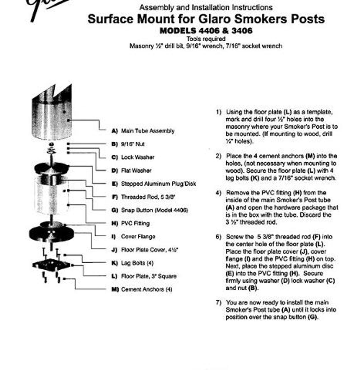Surface Mount Kit Instructions