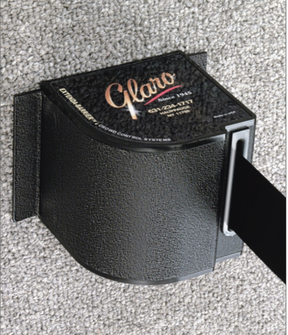 W18 Extenda-Barrier Aluminum or Black Retractable Crowd Control (18 Feet)