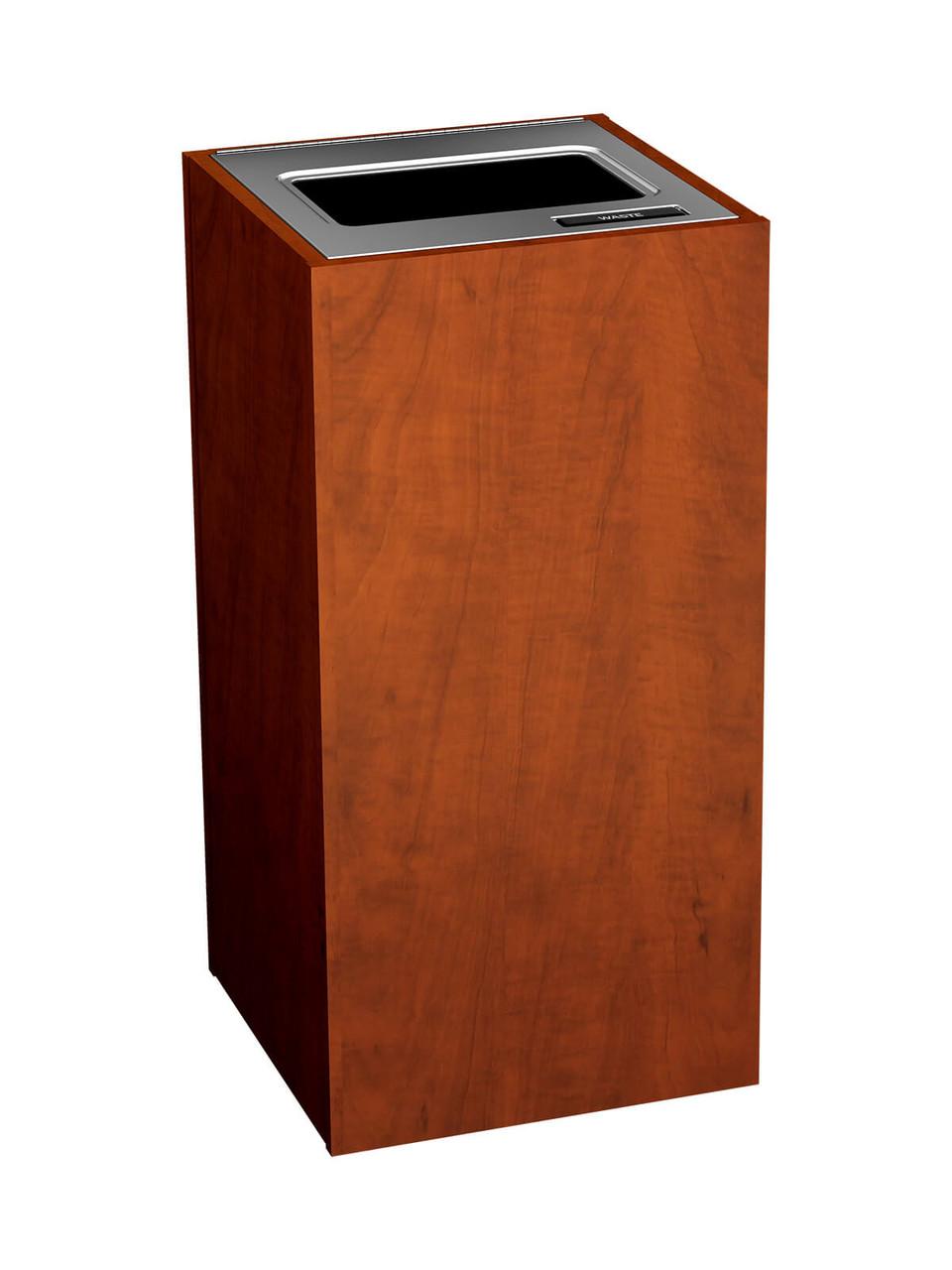 1 Stream 23 Gallon Aristata Tier 3 Recycling Bin 90917 MidSummer Flame